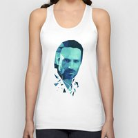 rick grimes Tank Tops featuring Rick Grimes - The Walking Dead by Dr.Söd