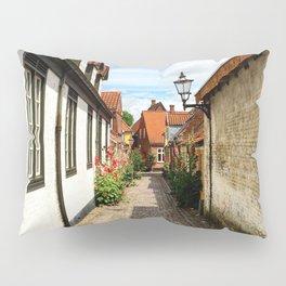 Narrow streets of Ribe Pillow Sham