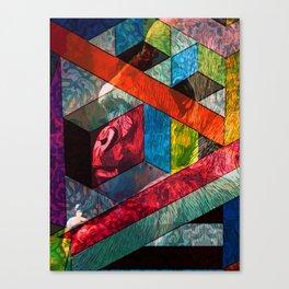 Gorilla & Shapes Canvas Print
