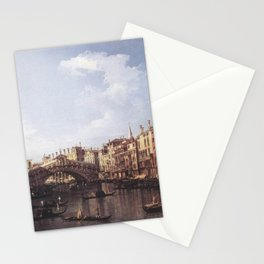 Canaletto - The Rialto Bridge from the South Stationery Cards