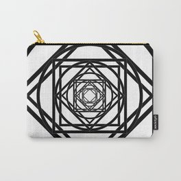 Diamonds in the Rounds Version 2 Carry-All Pouch