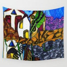 Island Street Wall Tapestry