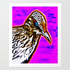 Pop Art Roadrunner No. 1 Art Print