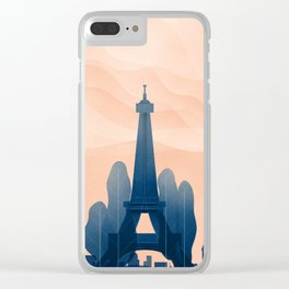 Message to Trump Clear iPhone Case