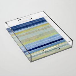 Colorbands Daylight Blue and Yellow Acrylic Tray