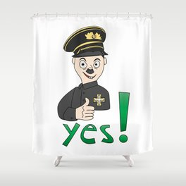 SticLer Shower Curtain