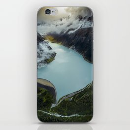 Hidden lake in Austrian Alps iPhone Skin