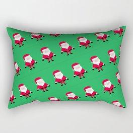 Jolly Santa Pattern Rectangular Pillow