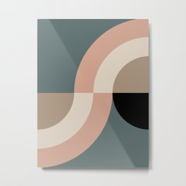 Contemporary Composition 33 Metal Print
