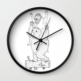 On a cause which contributed to the expulsion of the Lithuanian bear Wall Clock