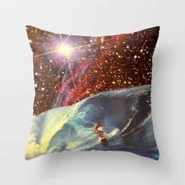 Surf Session Throw Pillow