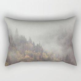 Foggy Elephant Mountain Rectangular Pillow