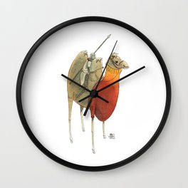 Numero 4 -Cosi che cavalcano Cose - Things that ride Things- NUOVA SERIE - NEW SERIES Wall Clock