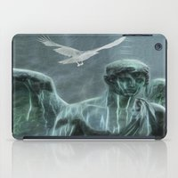 angel iPad Cases featuring Angel by Lucia