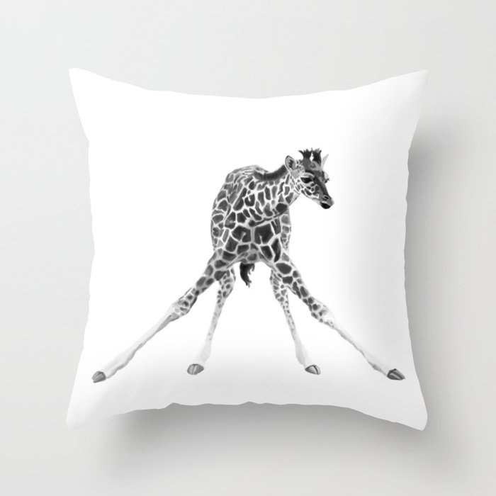 leggers Throw Pillow