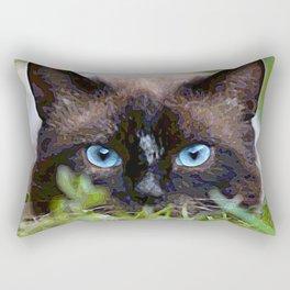 AnimalPaint_Cat_20171201_by_JAMColorsSpecial Rectangular Pillow