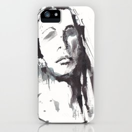 Woman in Ink - Femme d'Encre iPhone Case