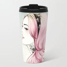 Pink Dye Travel Mug