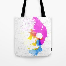 Skull Pop  Tote Bag