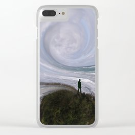 How am I supposed to feel? Clear iPhone Case