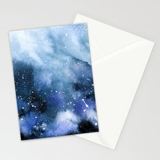 Oceanic Bloom Stationery Cards