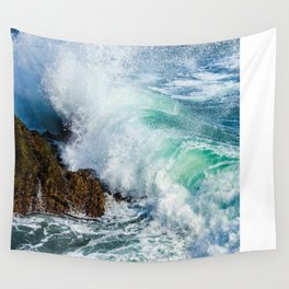 Stone waves Wall Tapestry