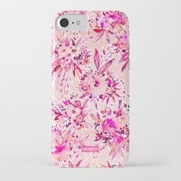GIMME THAT Pink Wild Floral iPhone Case