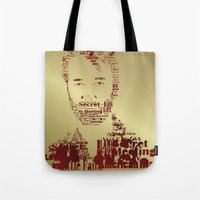 the national Tote Bags featuring The National by Luke Eckstein