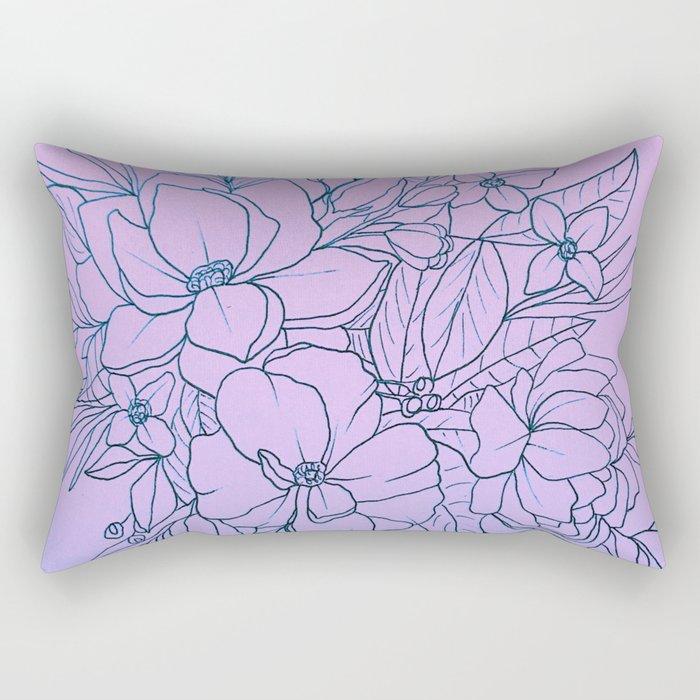 Duo-Tone Rectangular Pillow