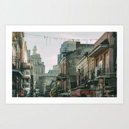 Bourbon Street 2 Art Print