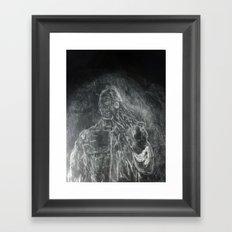 The Subtle Creep Framed Art Print