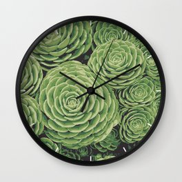 Succulents | Garden Plants Wall Clock