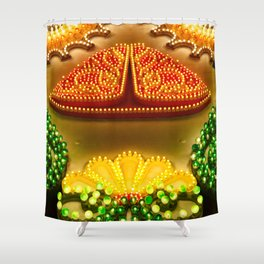 Colorful decorations Shower Curtain