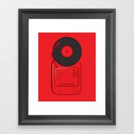 Musical School Bell Framed Art Print