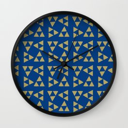 Print 130 - The Legend Of Zelda - Blue Wall Clock
