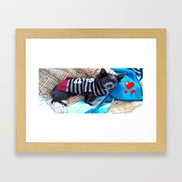 Julio Framed Art Print