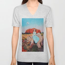 East of the Sun West of the Moon Unisex V-Neck