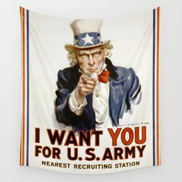 Uncle Sam Wall Tapestry