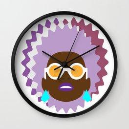 self portrait (rosie) Wall Clock