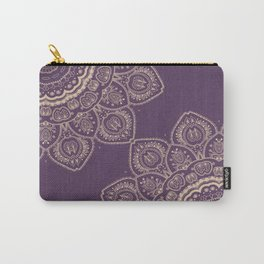 Lavender Tulips Carry-All Pouch