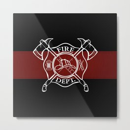 Maltese Cross Metal Print