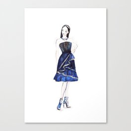 Fashion illustration  Canvas Print
