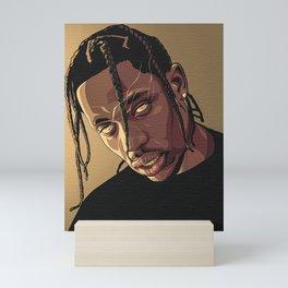 Travis Scot Art Mini Art Print