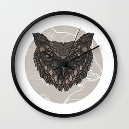 Im not a barn owl but i would like to be Wall Clock