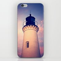 lighthouse iPhone & iPod Skins featuring Lighthouse by JMcCool