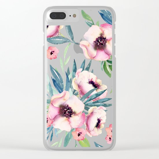 Flowers in Bloom Clear iPhone Case