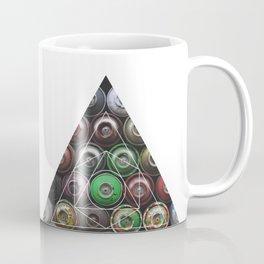 Graffiti Spray Cans - Geometric Photography Coffee Mug