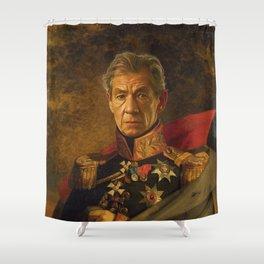 Sir Ian McKellen - replaceface Shower Curtain