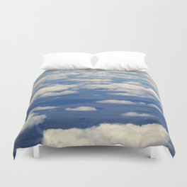 SKY FROM ABOVE Duvet Cover
