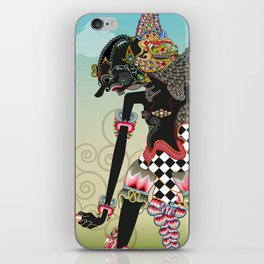 Wayang or shadow puppets iPhone Skin